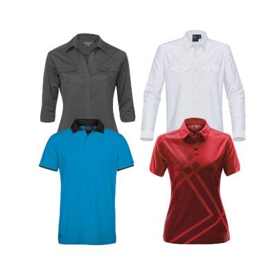 golf shirts & polos